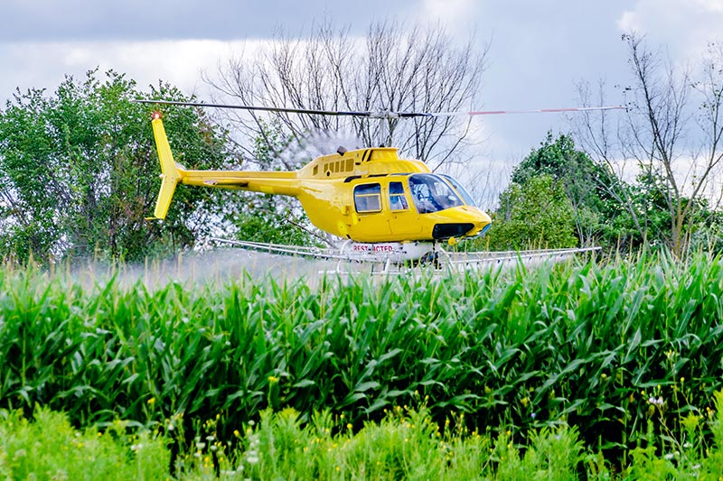 Agricultural Aerial Application in California