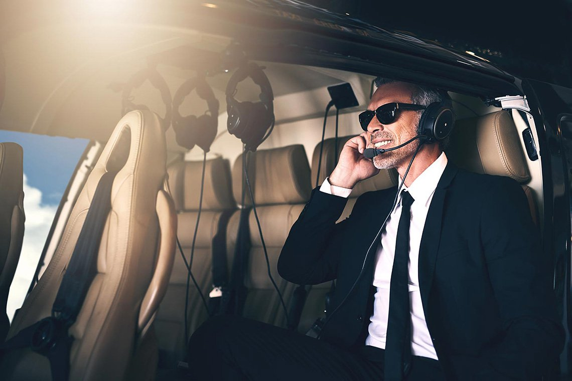 Executive Helicopter Charters in Bakersfield
