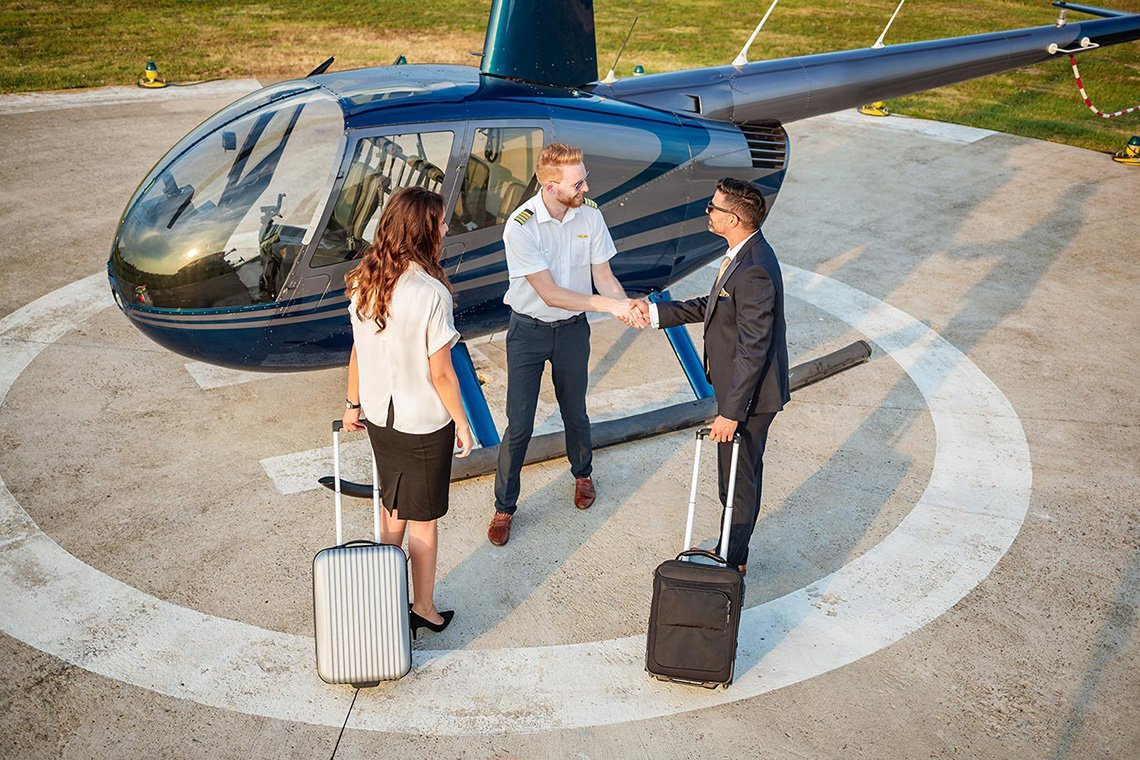 Specialty Helicopter Charters in Bakersfield